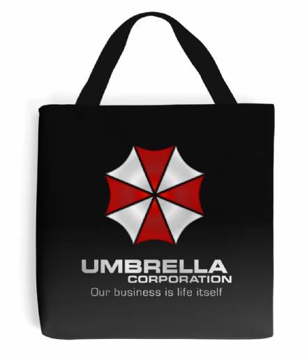 Resident Evil Umbrella Corporation Simple Logo Tote Bag